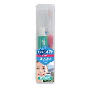 [TS-10]Portable toothbrush set(deliclean)